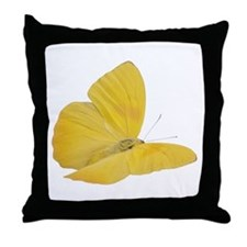 Yellow Butterfly (Bug 7) Throw Pillow