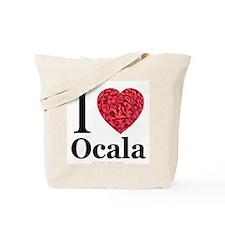 I Love Ocala Tote Bag