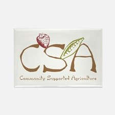 Community Agriculture Rectangle Magnet (100 pack)