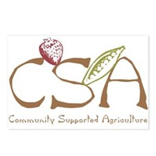 Community Agriculture Postcards (Package of 8)