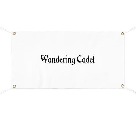 Wandering Cadet Banner