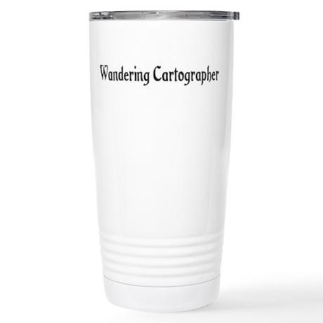 Wandering Cartographer Stainless Steel Travel Mug