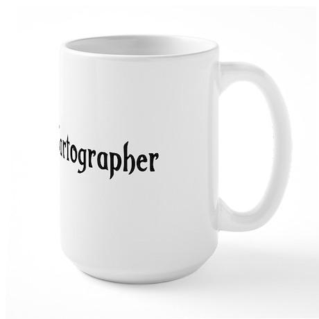 Wandering Cartographer Large Mug
