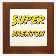 Super brenton Framed Tile