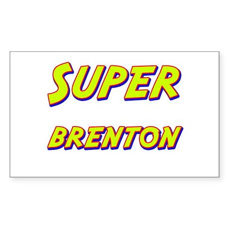 Super brenton Rectangle Sticker