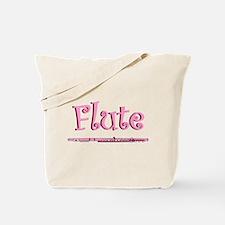 Pink Flute Tote Bag