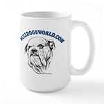 Blue Logo Large Mug