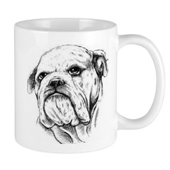 Drawn Head Mug