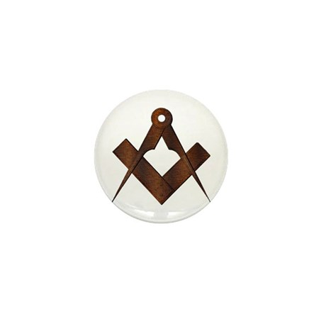 Masonic Antique Woody Mini Button (10 pack)