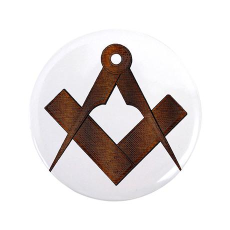 "Masonic Antique Woody 3.5"" Button"