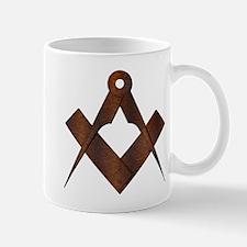 Masonic Antique Woody Mug