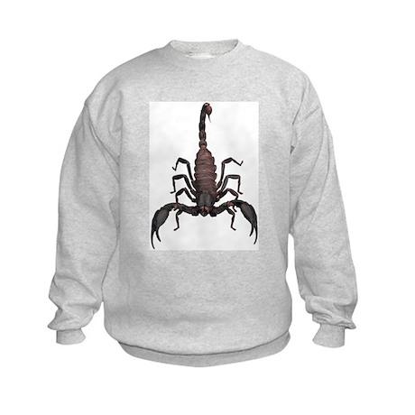 Scorpion (Bug 2) Kids Sweatshirt