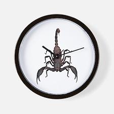 Scorpion (Bug 2) Wall Clock
