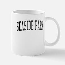 Seaside Park New Jersey NJ Black Mug