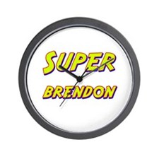 Super brendon Wall Clock