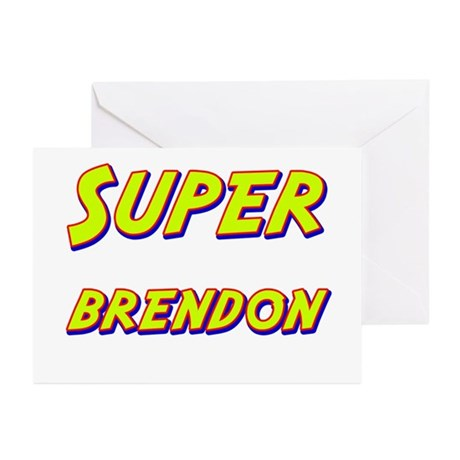 Super brendon Greeting Cards (Pk of 20)