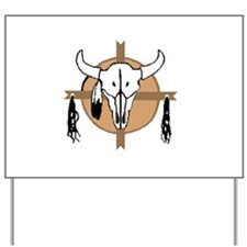 American Indian Shields Yard Sign