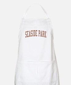 Seaside Park New Jersey NJ Red BBQ Apron