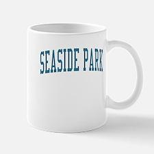 Seaside Park New Jersey NJ Blue Mug