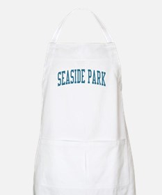 Seaside Park New Jersey NJ Blue BBQ Apron