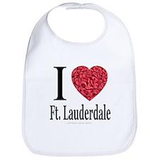 I Love Ft. Lauderdale Bib