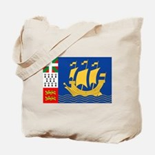 St. Pierre & Miquelon Tote Bag