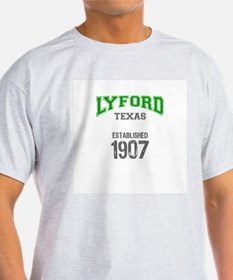 LYFORD Ash Grey T-Shirt