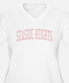Seaside Heights New Jersey NJ Pink T-Shirt