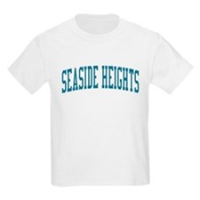 Seaside Heights New Jersey NJ Blue T-Shirt