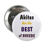 Akita Best of Breeds Button
