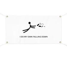 I Do My Own Falling... - Banner