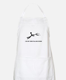 I Do My Own Falling... - BBQ Apron