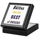 Akita Best of Breeds Keepsake Box