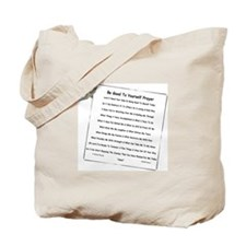 Little Sparrow BGTY Prayer Tote Bag