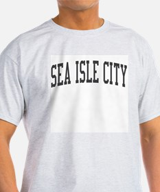 Sea Isle City New Jersey NJ Black T-Shirt