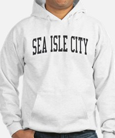 Sea Isle City New Jersey NJ Black Hoodie