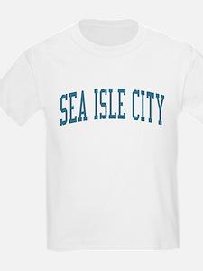 Sea Isle City New Jersey NJ Blue T-Shirt