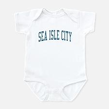 Sea Isle City New Jersey NJ Blue Infant Bodysuit