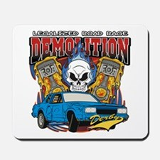 Demolition Derby Mousepad