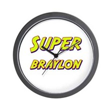 Super braylon Wall Clock