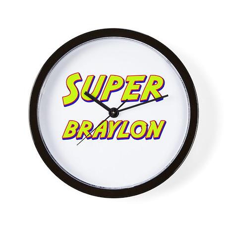 Super braylon Wall Clock