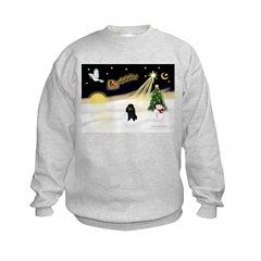 Night Flight/Poodle (Min) Sweatshirt