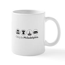 Only In Philadelphia - Icons Mug