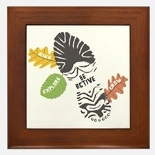 Be Active Framed Tile