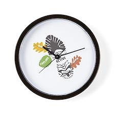 Be Active Wall Clock