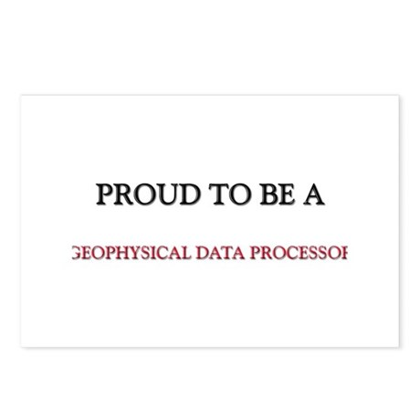 Proud to be a Geophysical Data Processor Postcards