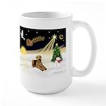 Night Flight/Airedale #5 Large Mug