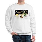 Night Flight/Airedale #5 Sweatshirt