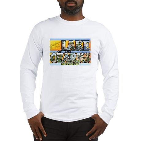 Lake Ozarks Missouri MO Long Sleeve T-Shirt