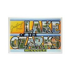 Lake Ozarks Missouri MO Rectangle Magnet